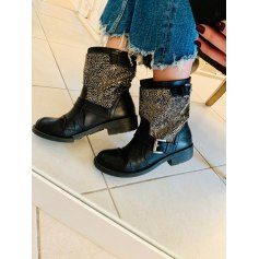 Bottines & low boots à talons   pas cher