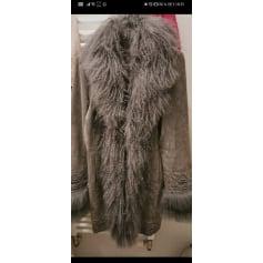 Manteau en fourrure Pepe Jeans  pas cher