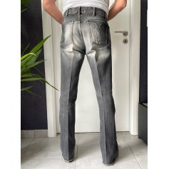 Jeans très evasé, pattes d'éléphant Yves Saint Laurent  pas cher