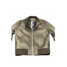 Blouson en cuir Louis Vuitton  pas cher