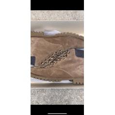 Bottines & low boots motards Sézane  pas cher