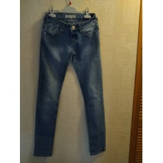 Jeans slim Miss RJ  pas cher