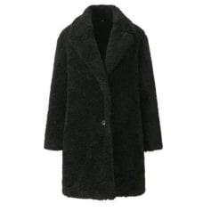 Manteau en fourrure Uniqlo  pas cher