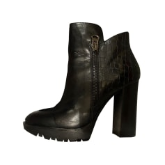 High Heel Ankle Boots Buffalo