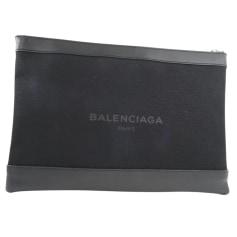 Sac pochette en cuir Balenciaga  pas cher