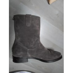 Flat Ankle Boots Stéphane Gontard