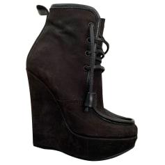 Bottines & low boots à compensés Dsquared2  pas cher