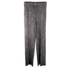 Pantalon droit Pleats Please by Issey Miyake  pas cher