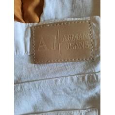 Straight Leg Pants Armani