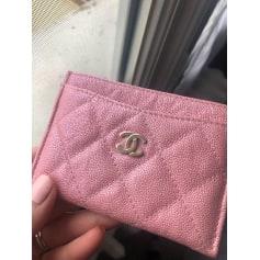 Porte-cartes Chanel  pas cher