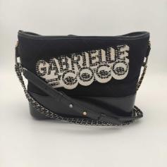 Schultertasche Stoff Chanel Gabrielle