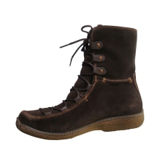 Bottines & low boots plates Timberland Bottes pas cher