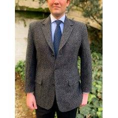 Veste de costume Harris Tweed  pas cher