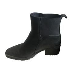 Bottines & low boots plates Comptoir Des Cotonniers  pas cher