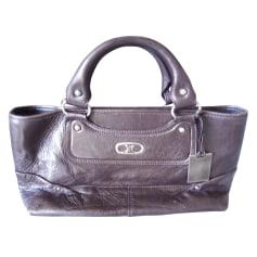 Leather Handbag Céline Boogie