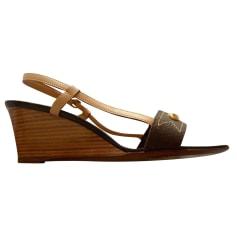 Wedge Sandals Louis Vuitton