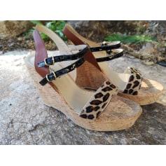 Sandales compensées Morena Gabbrielli  pas cher