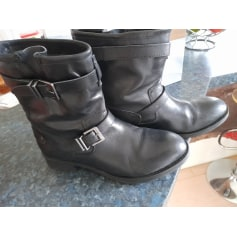 Bottines & low boots plates Pepe Jeans  pas cher