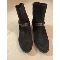 Santiags, bottines, low boots cowboy Khrio  pas cher