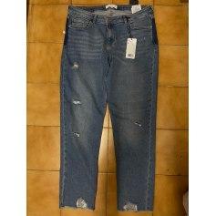 Jeans large, boyfriend Mango  pas cher