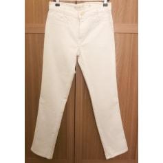 Pantalon slim, cigarette Mih Jeans  pas cher