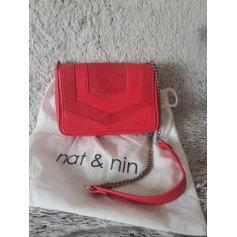 Schultertasche Leder Nat & Nin