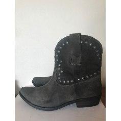 Santiags, bottines, low boots cowboy Minka Design  pas cher