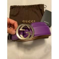 Ceinture fine Gucci  pas cher