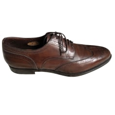 Chaussures à lacets Santoni  pas cher