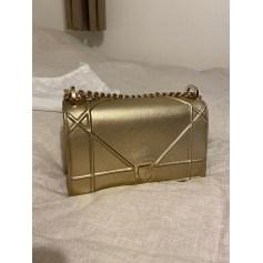 Sac en bandoulière en cuir Dior Diorama pas cher