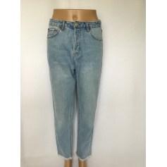Jeans large, boyfriend Pull & Bear  pas cher