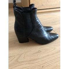Bottines & low boots à talons Pomme D'or  pas cher