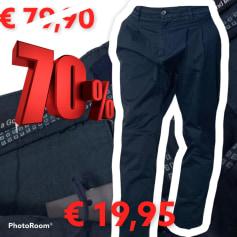 Slim Fit Pants Revers Jeans