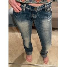 Jeans droit Le Temps des Cerises  pas cher