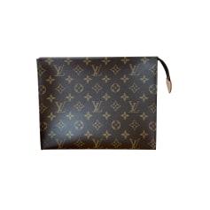 Sac pochette en tissu Louis Vuitton Pochette Toilette pas cher