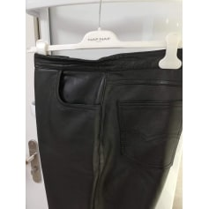 Pantalon droit La Canadienne  pas cher