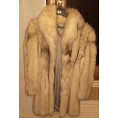 Manteau en fourrure Fuchs  pas cher