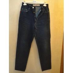 Pantalon droit Ober  pas cher