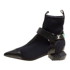 Flat Ankle Boots Louis Vuitton