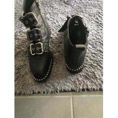 Bottines & low boots plates Topshop  pas cher