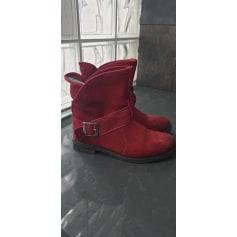 Flat Ankle Boots Buffalo