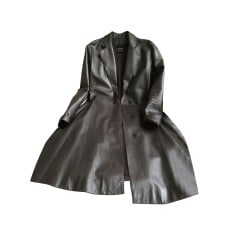 Manteau en cuir Lanvin  pas cher
