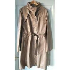 Manteau en cuir Louis Vuitton  pas cher