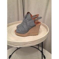 Sandales compensées Maypol  pas cher