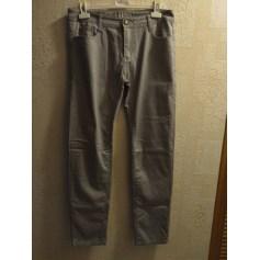 Pantalon droit B.S  pas cher