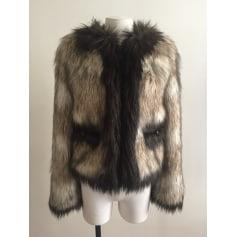 Blouson, veste en fourrure Lanvin pour H&M  pas cher