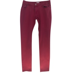 Jeans droit Red Valentino  pas cher