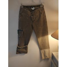 Pantalon droit Tricot Chic  pas cher