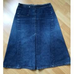 Jupe mi-longue Jeanswear Camps  pas cher