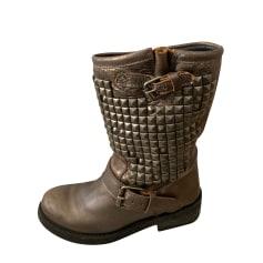 Biker Boots Ash
